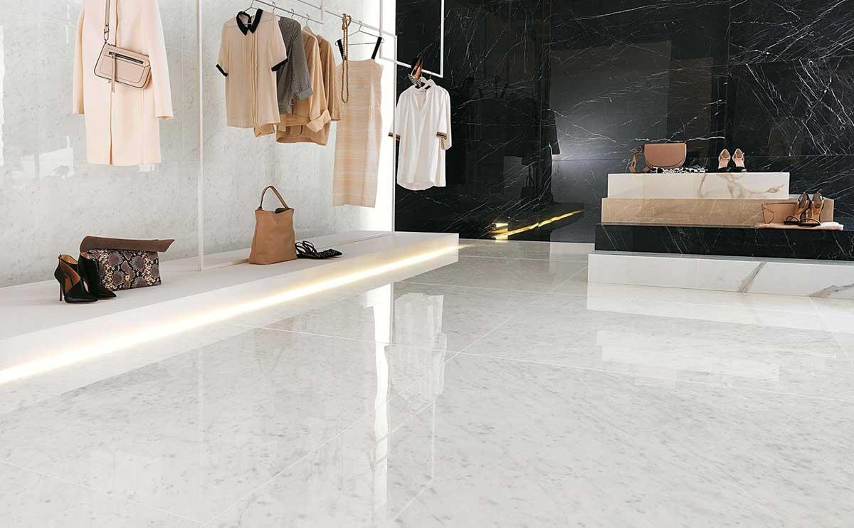 pavimenti-negozio-gres-effetto-marmo-bologna